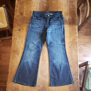 7 For All Mankind womens Jean's authentic